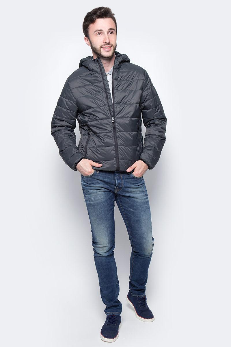 Куртка мужская Broadway Patrick, цвет: серый. 20100462_81B. Размер L (50) свитер женский broadway skyla цвет молочный 10156631 035 размер l 48