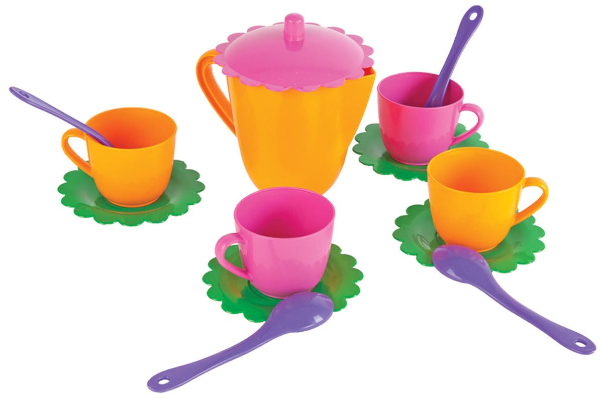 Mary Poppins Игровой чайный набор Цветок 14 предметов mary poppins одежда для кукол комплект море