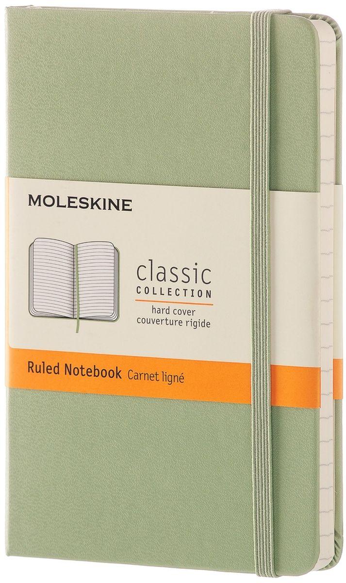 Moleskine Записная книжка Classic Pocket 96 листов в линейку цвет зеленый записная книжка мой шоппинг 96 листов