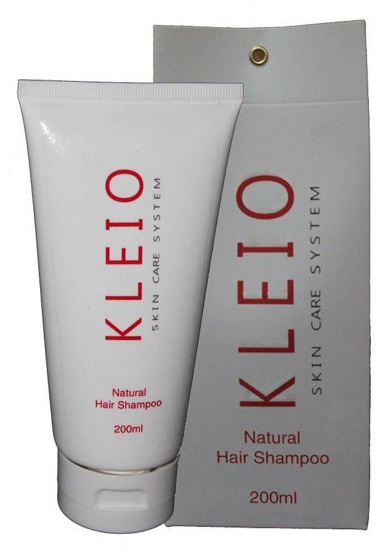 Kleio Натуральный шампунь для волос Skin Care System Natural Hair Shampoo, 200 млK06100200Шампунь для волос.Питающий, освежающий, применяется для всех типов волос; тщательно очищает, освежает, увлажняет и питает волосы и кожу головы; не нарушает естественный кислотно-щелочной баланс; улучшается общее состояние кожи головы и волос; придает здоровый вид и естественный блеск волос; содержит натуральные природные соли и минералы Мертвого моря.