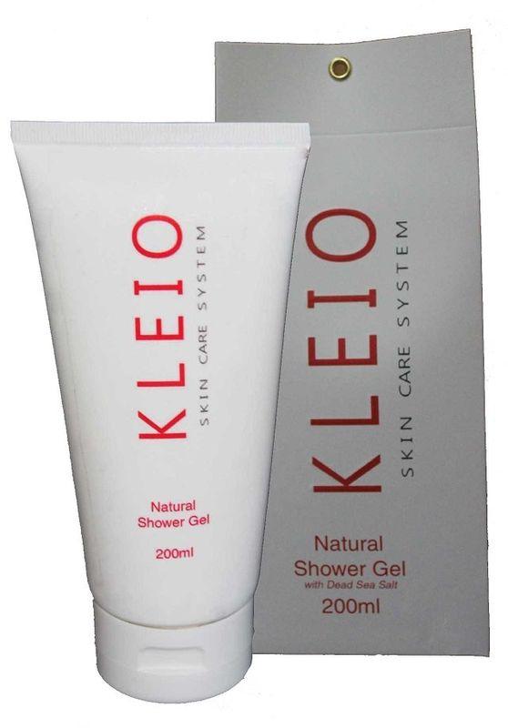 Kleio Натуральный гель для душа Skin Care System Natural Shower Gel, 200 млK05100200Гель для душа, очищающий, увлажняющий, питающий, освежающий, применяется для волос и тела; тщательно и в тоже время мягко очищает, одновременно увлажняя и питая; придает коже ощущение гладкости и вид бархатистости; отлично освежает и снимает стрессовое состояние кожи; при многократном применении кожа становится более упругой и принимает естественное более здоровое состояние; содержит натуральные природные соли и минералы Мертвого моря.