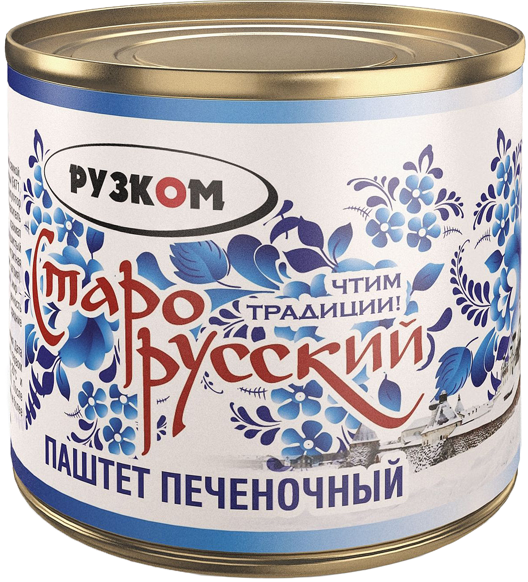 Рузком паштет печеночный Старорусский литография, 240 г4606411014474Паштет печеночный. Продукт готов к употреблению.