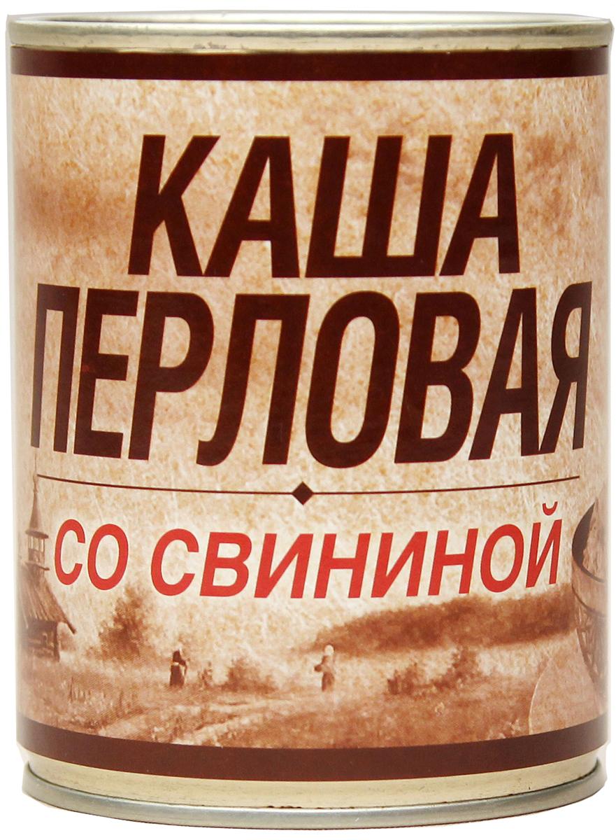 Вотчина Каша перловая со свининой, 338 г рузком каша рисовая со свининой 325 г
