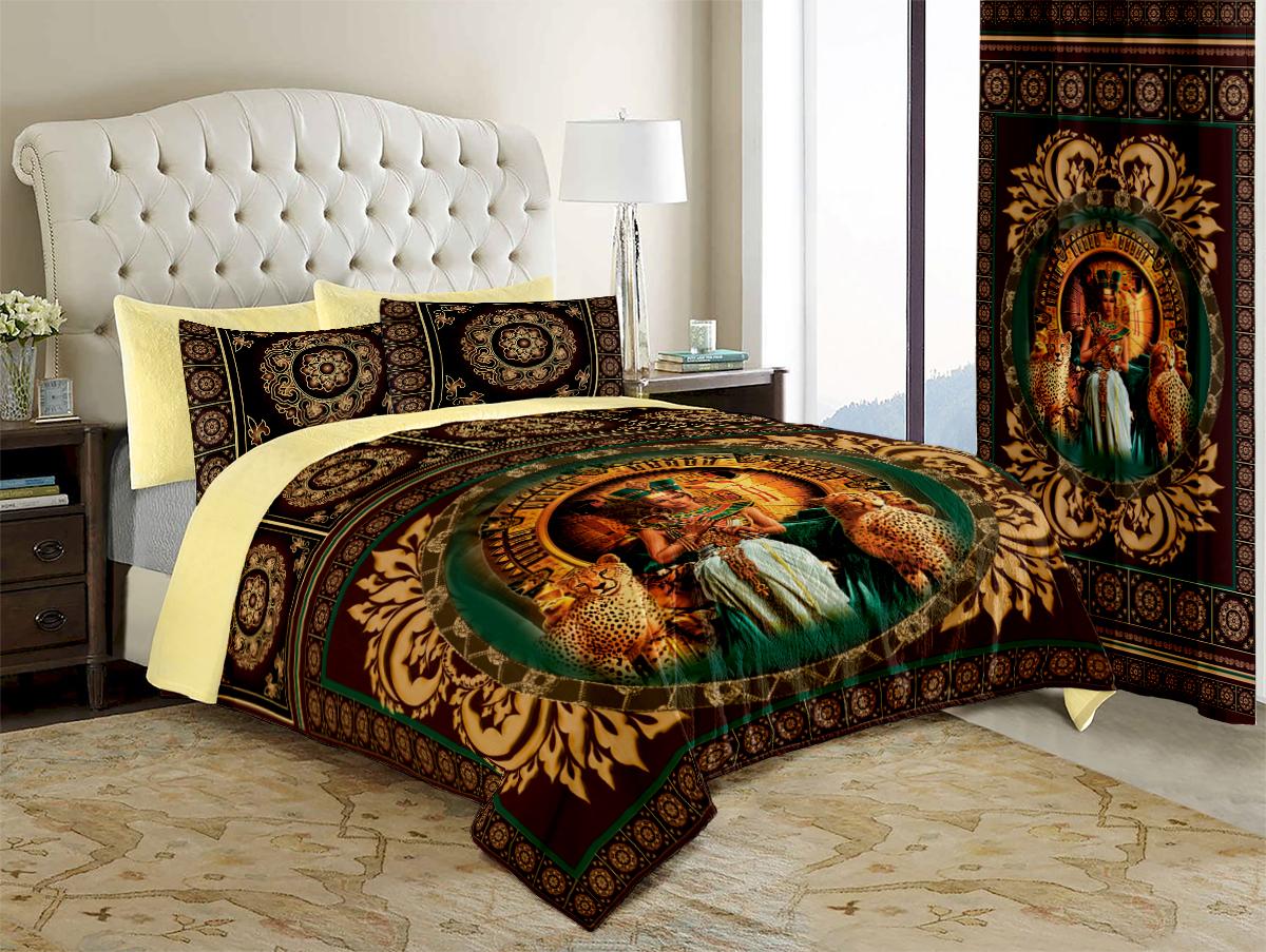 Покрывало МарТекс Египет, 200 х 220 см16-0966-3Покрывало МарТекс станет изысканным дополнением интерьера спальни. Яркое покрывало изготовлено из качественного полиэстера.Покрывало не только согреет, но и создаст неповторимый уют в вашей спальне. Мягкий, теплый, приятный на ощупь материал делает покрывало хорошей заменой пледу.