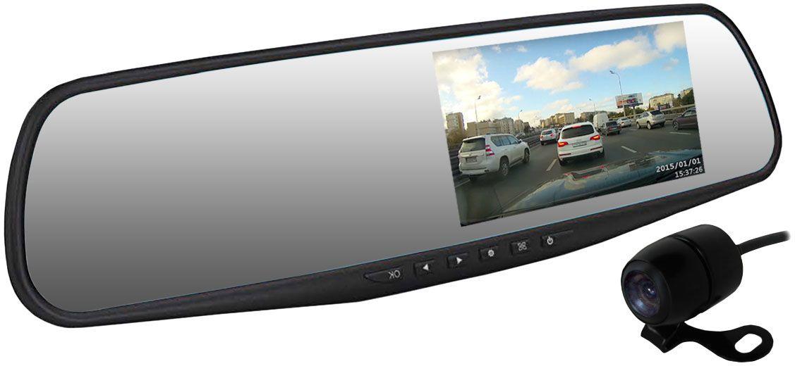 Dunobil Spiegel Duo, Black видеорегистраторFHNEODNВидеорегистратор Dunobil Spiegel Duo придется по вкусу всем любителям нестандартных технических решений. Видеорегистратор представлен в виде зеркала заднего вида со встроенным экраном-регистратором. Этот аппарат присоединяется к соответствующей панели с помощью специального механизма крепления. Диагональ самого экрана составляет 4,3 дюйма. Такая компактность оптимально подходит для удобства водителя, а также делает видеорегистратор Dunobil Spiegel Duo практически незаметным снаружи оснащенного им автомобиля. На его панели размещены основные механические кнопки.