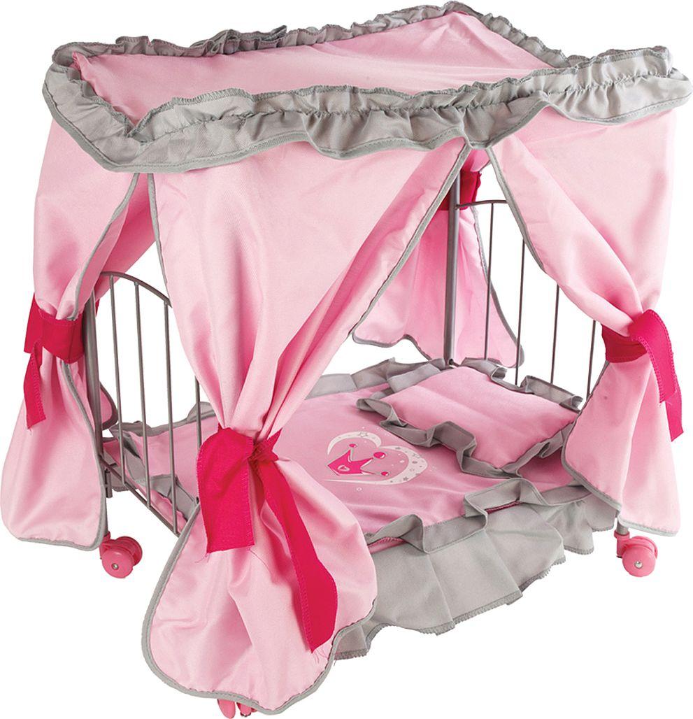 Mary Poppins Кроватка для кукол Корона с балдахином - Куклы и аксессуары