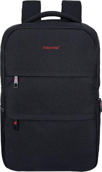 Tigernu T-B3202, Black рюкзак для ноутбука 14T-B3202Tigernu T-B3202 — городской рюкзак, который привлекает внимание современным дизайном и удобной формой.Рюкзак оптимально подходит для городских и загородных путешествий, учебы и отдыха, поскольку отличается функциональностью и продуманной эргономикой. Производитель уделил внимание мельчайшим деталям Tigernu T-B3202, благодаря чему он радует безупречным качеством. Рюкзак выполнен из нейлона — прочного, влагостойкого материала, который не боится царапин и разрывов. Модель отличается вместительностью и выдерживает значительные нагрузки. Она оснащена основным отделением с отсеком для ноутбука и многочисленными карманами, в том числе боковыми и наружными. Tigernu T-B3202 отличается:• прочностью за счет усиленных швов и накладок, расположенных на дне;• безопасностью, благодаря наличию двойной молнии и возможности использования кодового замка;• удобством, которое обеспечивают широкие и мягкие плечевые и нагрудная лямки, а также ортопедическая спинка. Они изготовлены из дышащего материала.