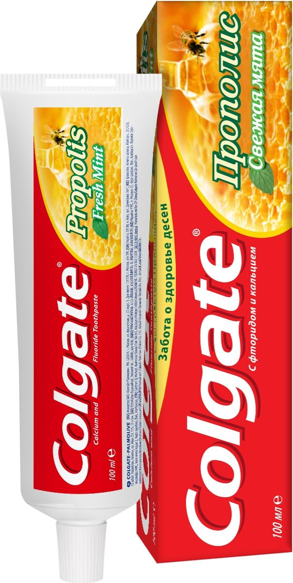 Colgate Зубная паста Прополис 100 мл colgate зубная паста total12 прополис 100 мл