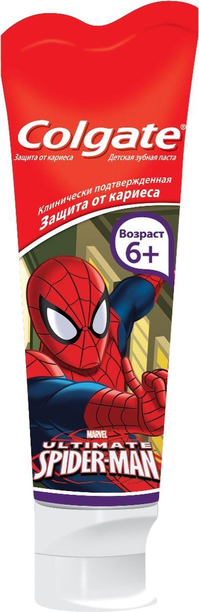 Colgate Зубная паста детская Человек паук, 75 мл кокосовая зубная паста