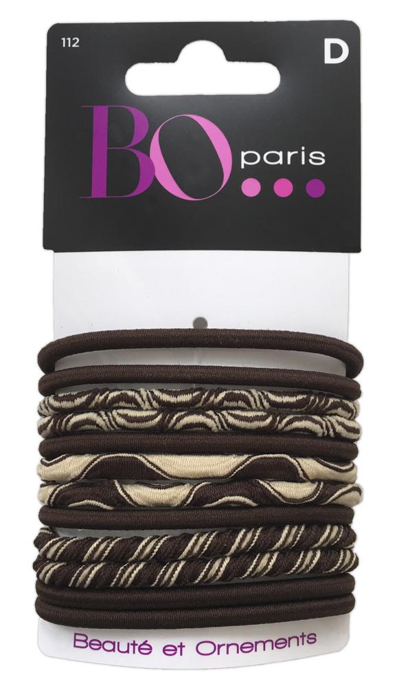 BO Paris Резинки для волос цвет мультиколор 48015001124801500112Резинки для поддержания волос и сохранения прически