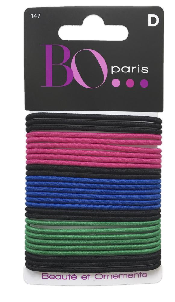 BO Paris Резинки для волос цвет мультиколор 48015001474801500147Резинки для поддержания волос и сохранения прически