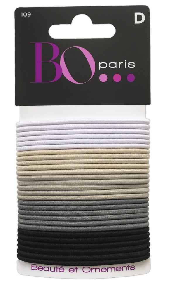 BO Paris Резинки для волос цвет мультиколор 48095001094809500109Резинки для поддержания волос и сохранения прически