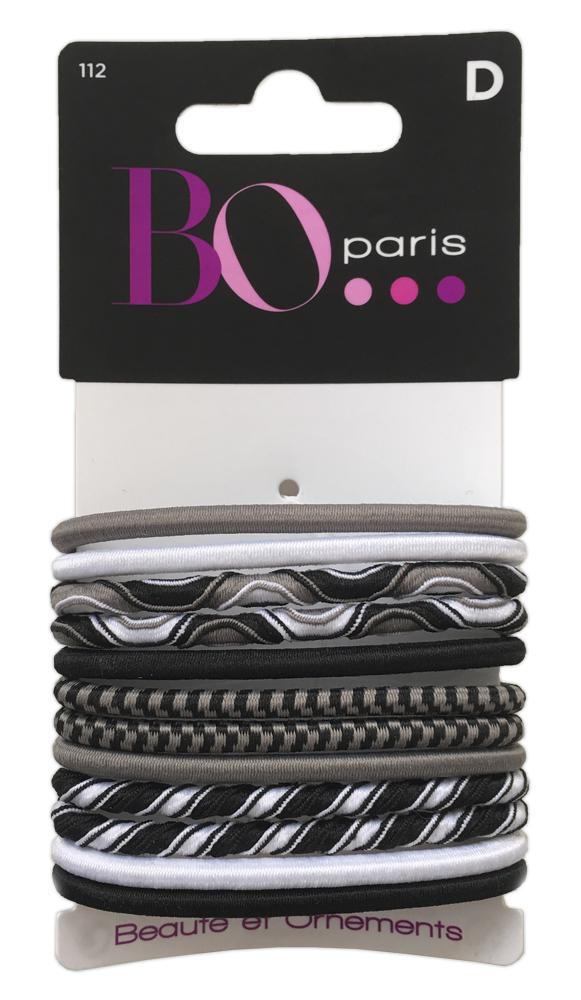 BO Paris Резинки для волос цвет мультиколор 48095001124809500112Резинки для поддержания волос и сохранения прически