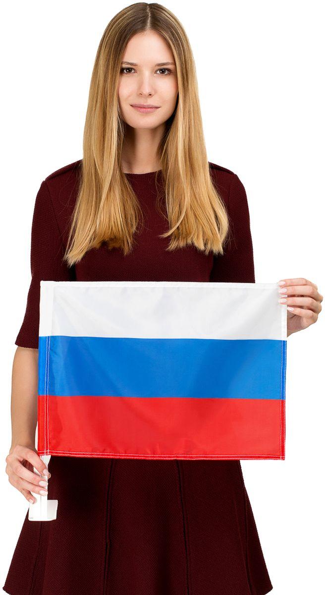 Флаг автомобильный Ratel Россия, двухсторонний, 30 см х 40 смG021Автомобильный флаг России выполнен из полиэстера.Яркая двухсторонняя печать.Обязательно приобретение автомобильного флагштока длязакрепленияфлага на автомобиле.