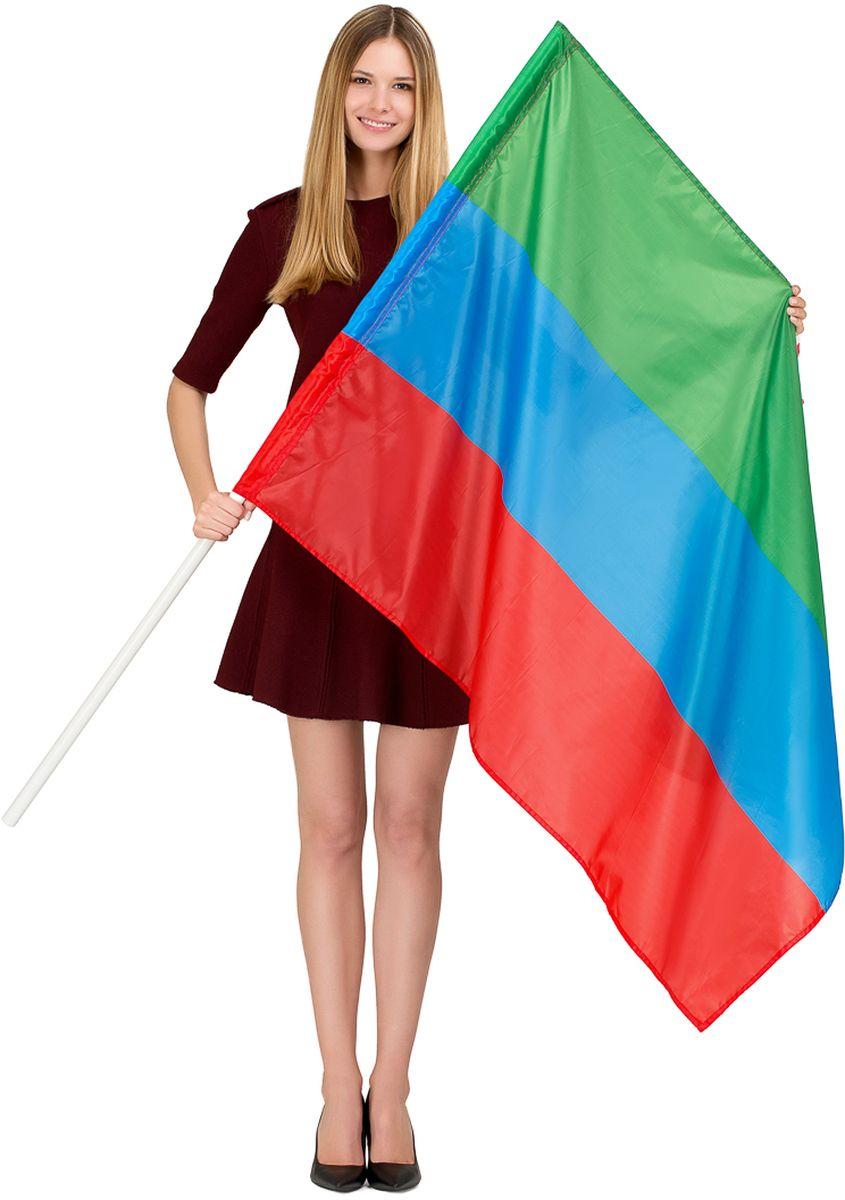 Флаг Ratel  Республика Дагестан , односторонний, 90 х 135 см - Национальная Атрибутика