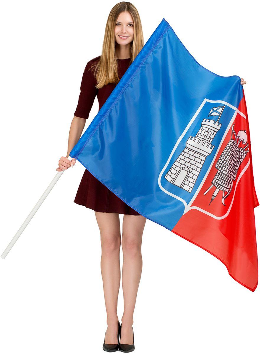 Флаг Ratel  Ростов-на-Дону , односторонний, 90 х 135 см - Национальная Атрибутика