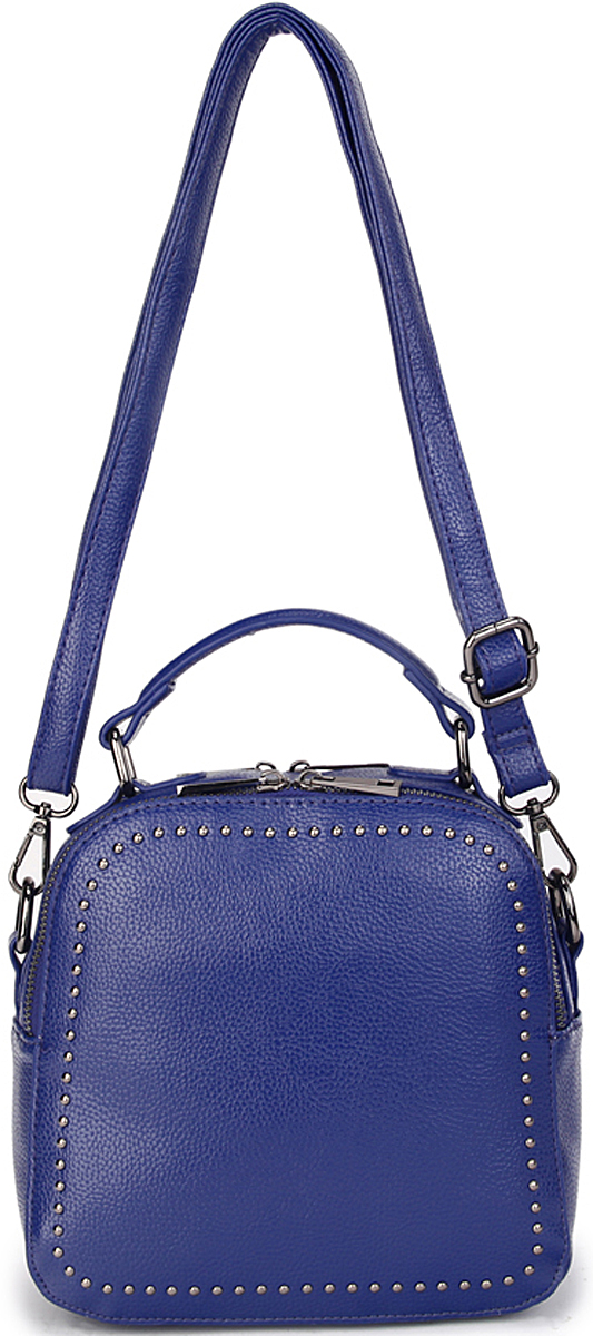 Сумка-рюкзак женская OrsOro, цвет: синий. D-433/3