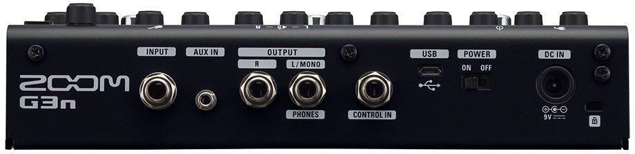 Zoom G3n, Black педаль эффектов для электрогитары - Гитарные аксессуары и оборудование