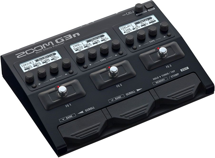 Zoom G3n, Blackпедаль эффектов для электрогитары Zoom