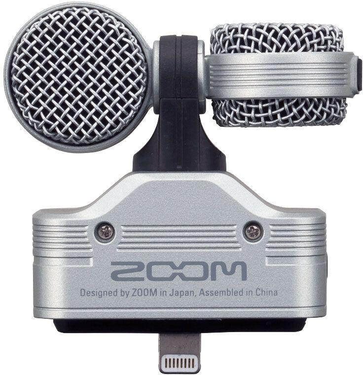 Zoom IQ7, Black iOS-совместимый микрофон - Микрофоны