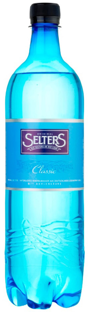 Selters вода минеральная газированная, 1 лWSLTCL-100P06Вода минеральная питьевая лечебно-столовая газированная Selters.