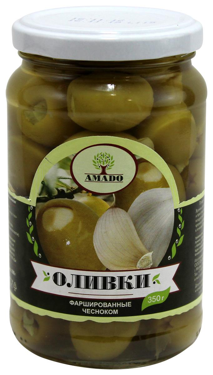 Amado зеленые оливки с чесноком, 350 г13Экологически чистый продукт. Чистейшая горная вода позволяет почувствовать истинный вкус оливок. Отсутствуют усилители вкуса и консерванты.