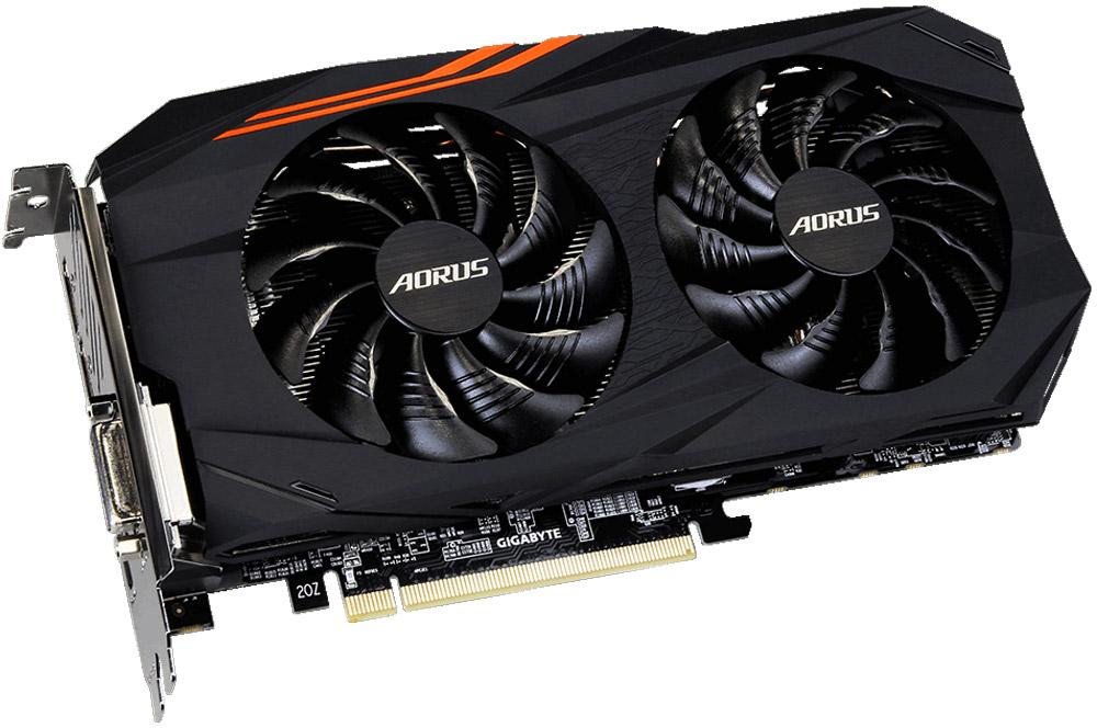Gigabyte AORUS Radeon RX 580 4GB видеокарта gigabyte b450 i aorus pro wifi
