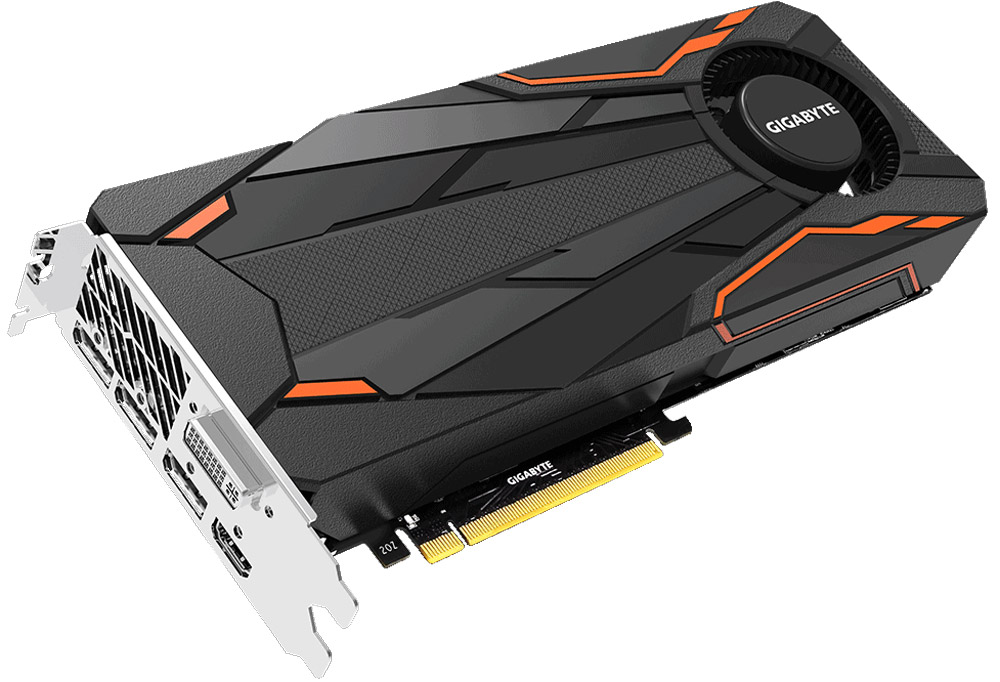 Gigabyte GeForce GTX 1080 Turbo OC 8GB видеокарта