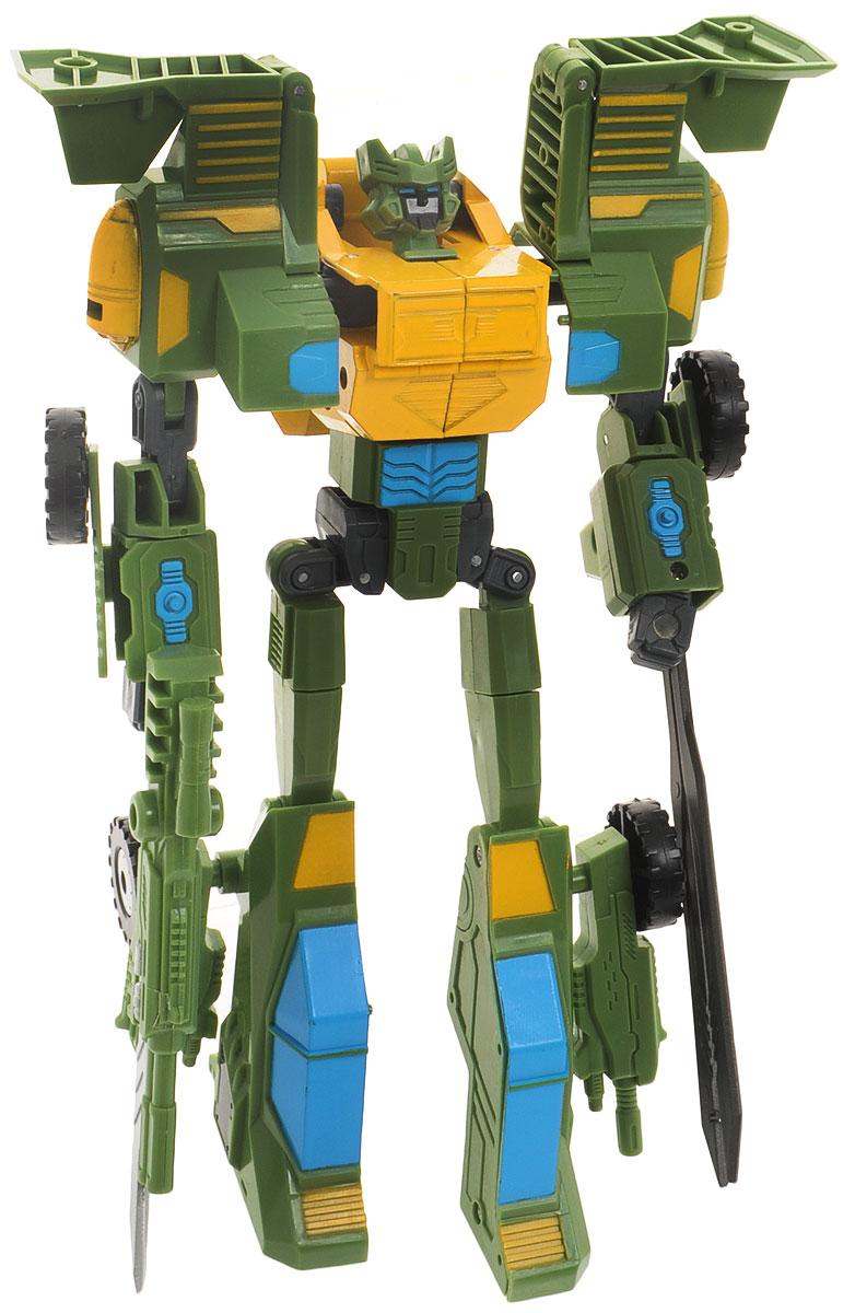 Склад уникальных товаров Робот-трансформер Вертолет XL цвет зеленый
