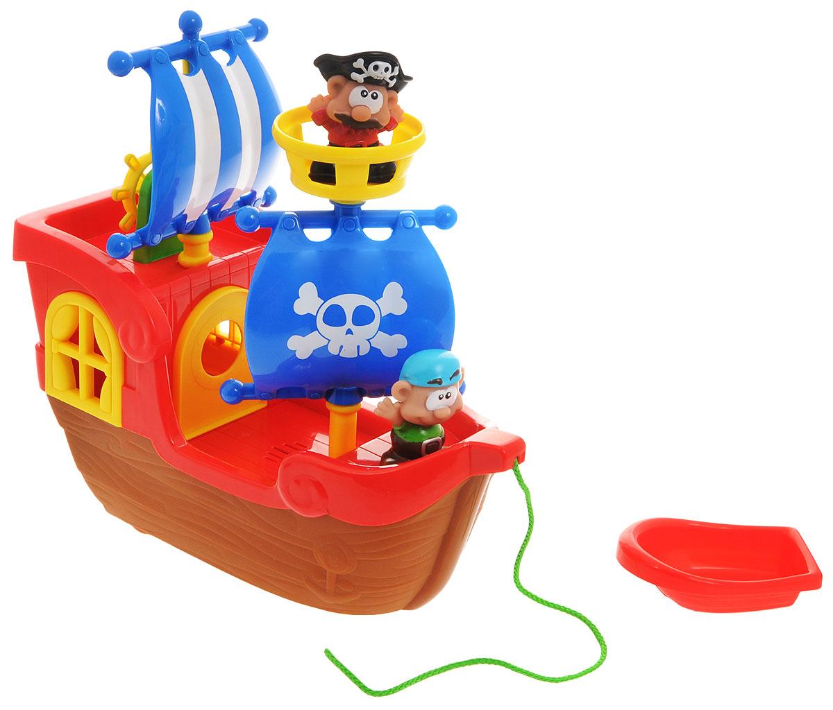 Keenway Игровой набор Приключения пиратов паровозик веселый keenway с паззлами