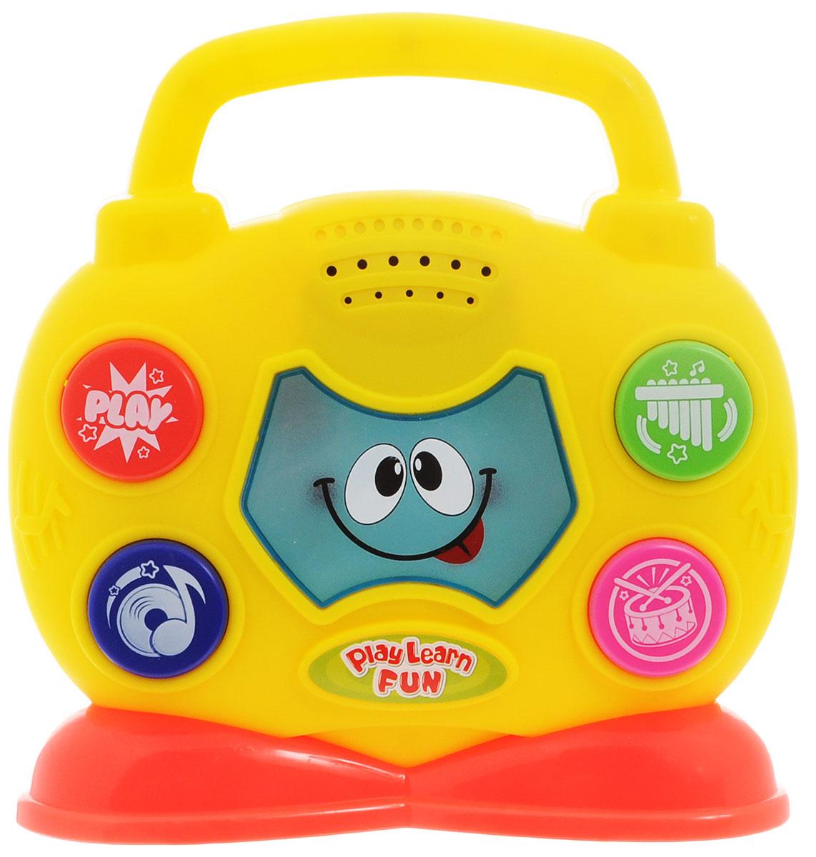 Keenway Развивающая игрушка Музыкальный бумбокс паровозик веселый keenway с паззлами