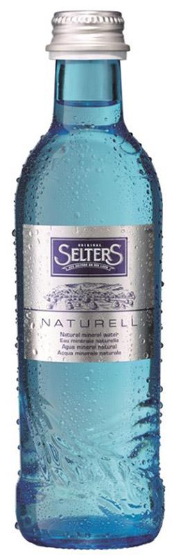 Selters вода минеральная негазированная, 0,275 л стекло aqua minerale вода питьевая негазированная 1 5 л