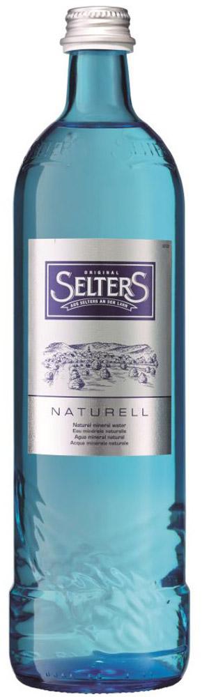 Selters вода минеральная негазированная, 0,8 л стекло aqua minerale вода питьевая негазированная 1 5 л