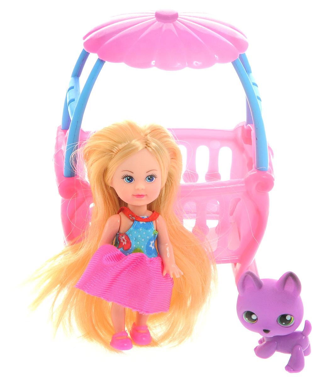 Mary Poppins Мини-кукла Малютка Мэгги с кроваткой кукла мэгги