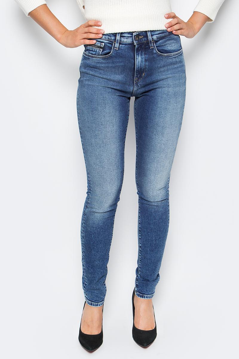 Джинсы женские Calvin Klein Jeans, цвет: синий. J20J205789_9143. Размер 29 (44/46) женские джинсы women jeans dk ] 2015 0165