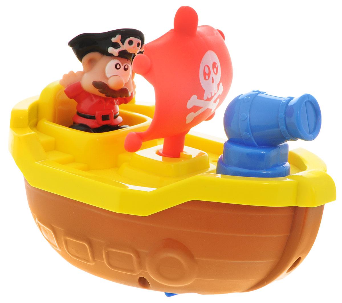Keenway Игрушка для ванной Пиратские приключения цвет желтый