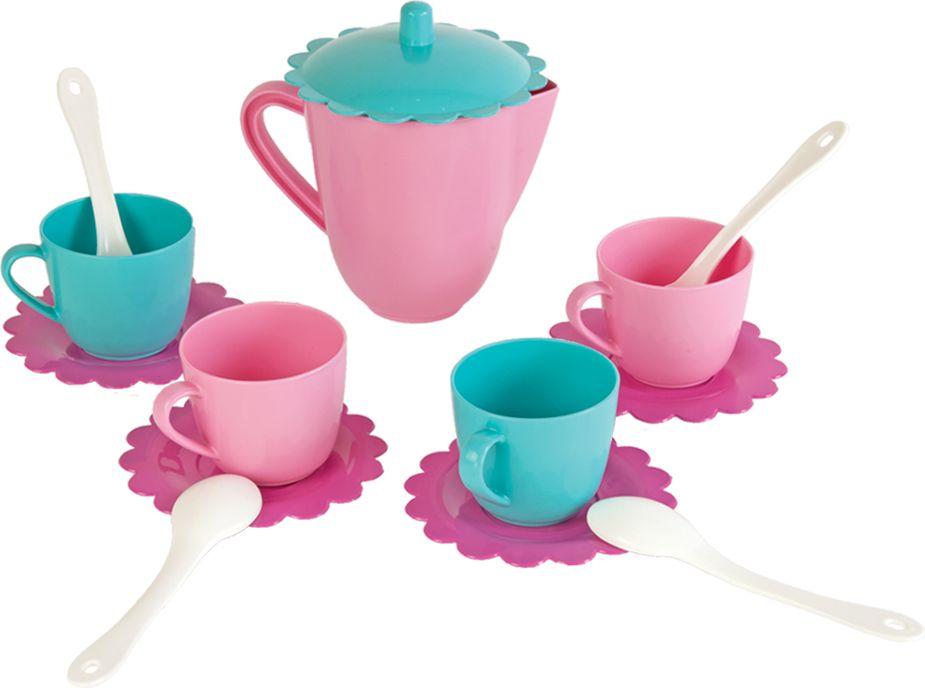 Mary Poppins Игровой набор посуды Чайный набор Зайка 14 предметов чайный набор mary poppins зайка 14 предметов 39322
