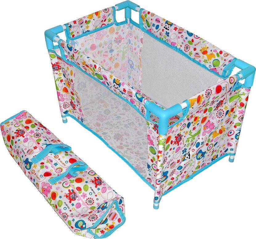 Mary Poppins Кроватка для кукол Фантазия цвет голубой