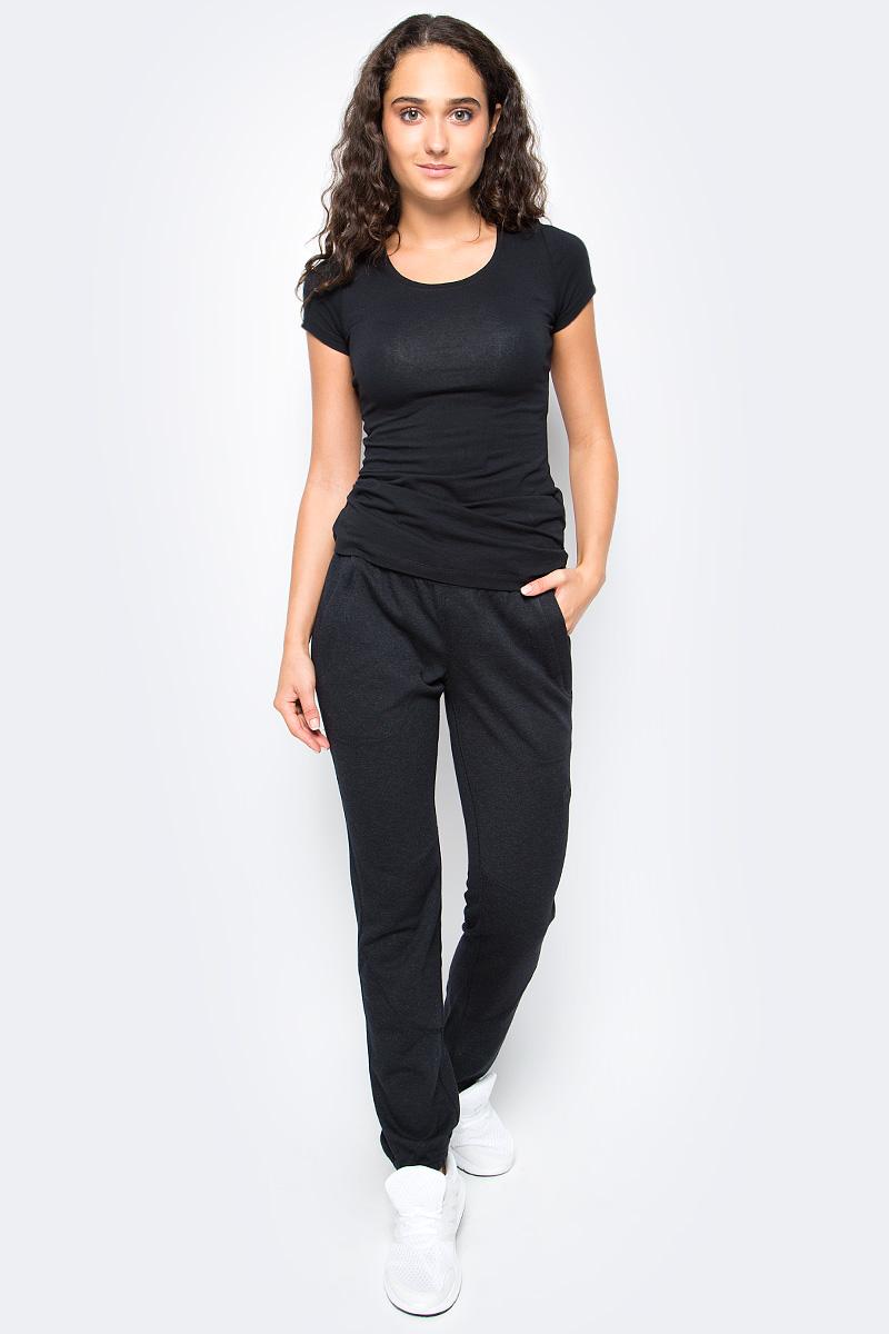 Брюки спортивные женские Adidas W Wool Chino, цвет: черный. B43317. Размер 42 (48) брюки спортивные adidas performance adidas performance ad094ewuof95