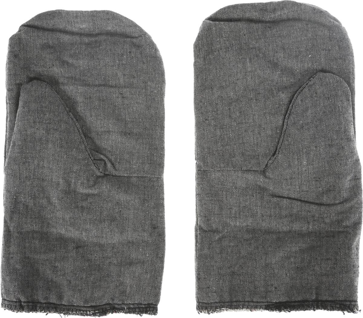"""Рукавицы специальные """"Сибртех"""", утепленные, цвет: серый. Размер 2"""