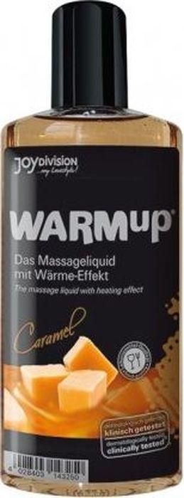 JoyDivision Разогревающий массажный гель, съедобный Warm Up, карамель, 150 мл shiatsu массажный гель лубрикант 2 в 1 на водной основе 200 мл