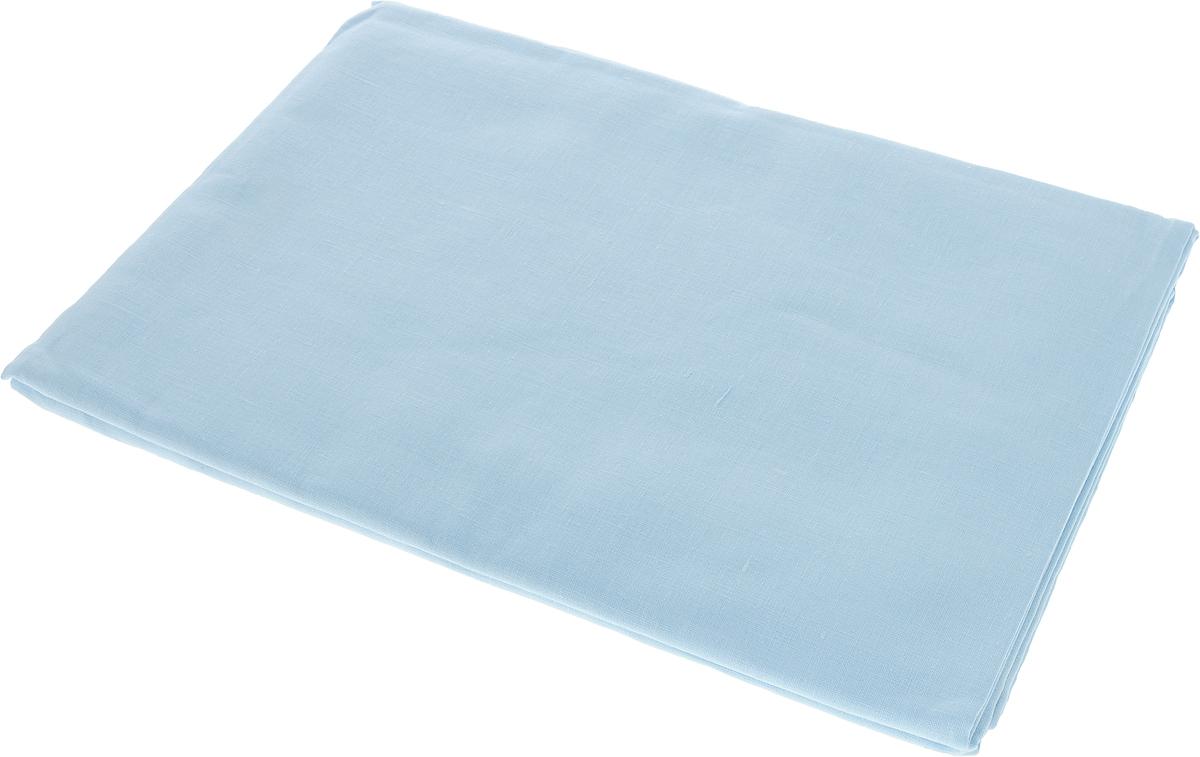 Комплект белья Гаврилов-Ямский Лен, 1,5-спальный, наволочки 70x70, цвет: голубой. 5со34765со3476Комплект белья Гаврилов-Ямский Лен состоит из простыни и двух наволочек. Изделия выполнены изо льна с добавлением хлопка (52% лен, 48% хлопок). Лен - поистине уникальный природный материал, экологичнее которого сложно придумать. Изделия изо льна отличаются долгим сроком службы, не линяют, выдерживают множество стирок и сохраняют безупречный внешний вид долгое время. Льняное постельное белье обладает уникальными потребительскими свойствами - оно даст вам ощущение прохлады в жаркую ночь и согреет в холода. История льна восходит к Древнему Египту: в те времена одежда изо льна считалась достойной фараонов. На Руси лен возделывали с незапамятных времен - изделия из льняной ткани считались показателем достатка, а льняная одежда служила символом невинности и нравственной чистоты.