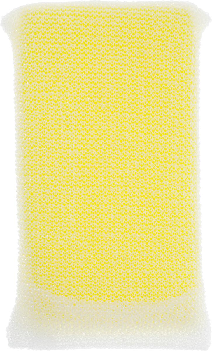 Губка для посуды Ohe Hi Power Sponge, с жесткой сеточкой, 15 х 9 х 2 см503702Губка Ohe Hi Power Sponge используется для чистки посуды с тефлоновым, фтор-каучуковымпокрытием, пластиковой, эмалированной посуды, керамики, стеклянной посуды, кухонныхприборов. Согнув губку пополам, можно мыть глубокие стаканы. Особенности изделия: - сеточка, в которую заключена губка, сделана путем сплетения лентоподобных нитей, онаочень хорошо удаляет грязь, - в части, где находится губка, применена антибактериальная дезодорирующая обработка.Состав: полиуретан, полиэстер.Выдерживает температуру до 90°С.