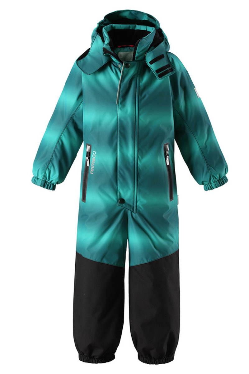 Комбинезон детский Reima Reimatec Tornio, цвет: зеленый. 520209C886. Размер 134