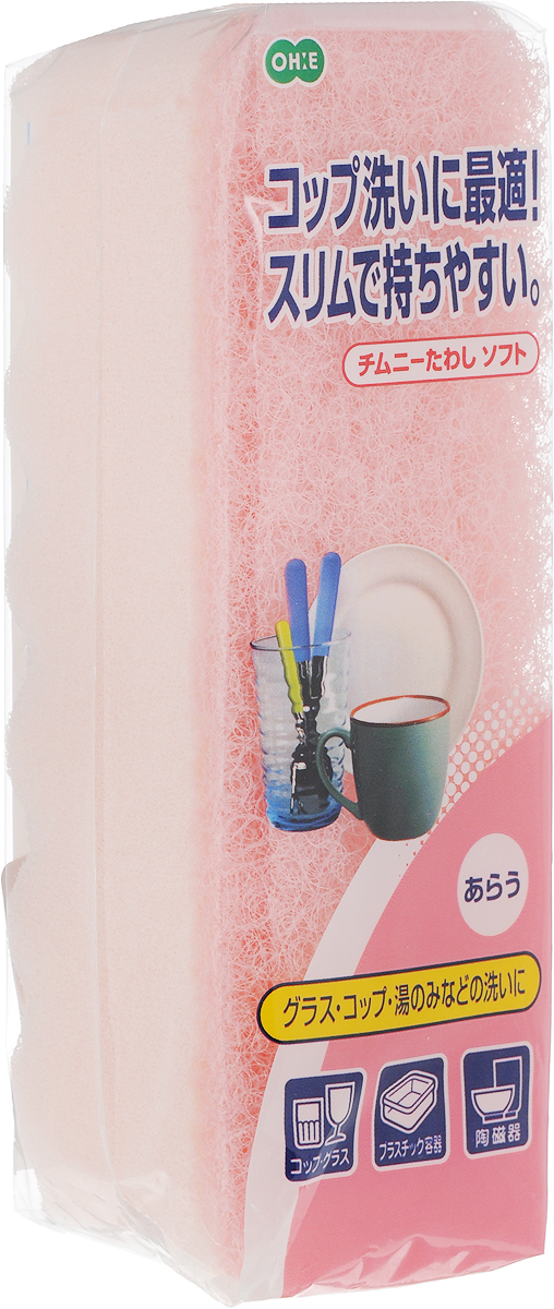 Губка для посуды Ohe Chimuny Soft Sponge, двухслойная, верхний слой средней жесткости, 15 х 5 х 4,5 см050299Двухслойная губка Ohe Chimuny Soft Sponge предназначена для чистки и мытья изделий изпластика, стекла, эмалированной посуды, керамики, посуды, покрытой пластиком, кухонныхприборов из нержавеющей стали.Особенности изделия: - нетканый материал на внешней стороне губки прекрасно удаляет загрязнения и не царапаетповерхность, - мягкая губка создает большое количество пены, полностью очищает поверхность от грязи, - является безопасным продуктом, поскольку для склеивания не используются растворителии другие опасные вещества. Состав: нетканая поверхность - нейлон, губка - полиуретан.Выдерживает температуру до 90°С.