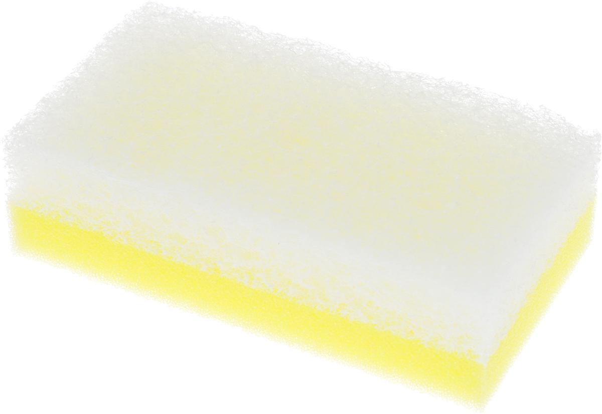Губка для посудыOhe Scrub Brush Soft, двухслойная, 12 х 6,5 х 3,5 см502521Двухслойная губка Ohe Scrub Brush Soft предназначена для чистки посуды и кухонных инструментов, в том числе из стекла тонкой работы, и кухонных инструментов. Прекрасное решение для профессионалов. Подходит для использования в сфере общественного питания. Особенности изделия:- объемный нетканый материал,- компактный размер для быстрой очистки небольших поверхностей.Состав: Нейлоновый полиэстеровый нетканый материал (включены акриловые шарики), губка - полиуретан. Выдерживает температуру до 90°С.