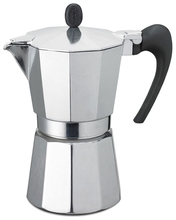 Кофеварка гейзерная G.A.T. Aroma Vip, цвет: хром, 600 мл