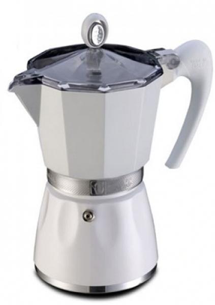 Кофеварка гейзерная G.A.T. Bella, 300 мл, цвет: белый