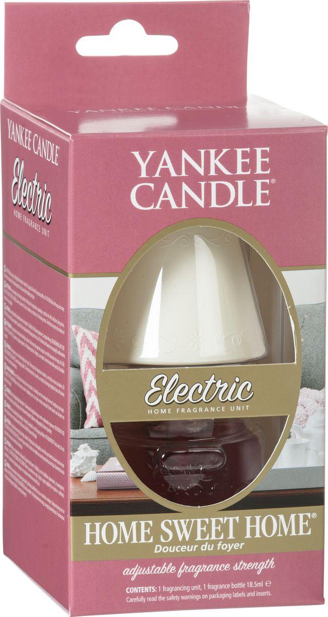 Электро-диффузор Yankee Candle Home Sweet Home,4-6 недель1071013EАромат свежей выпечки с корицей и нотами свежезаваренного чая. Верхняя нота: Яблоко, Корица.Средняя нота: Мускатный Орех, Черешня, Ягоды Можжевельника.Базовая нота: Кумарин, Мускус.