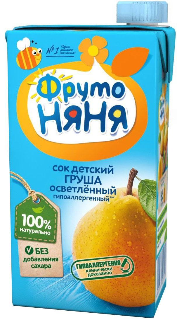ФрутоНяня сок из груш, 0,5 л